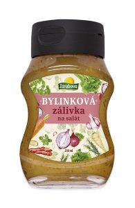 Zálivka na salát bylinková 250 ml/12 ks